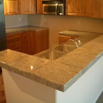 Here Are Some Countertop And Bar That Tiled