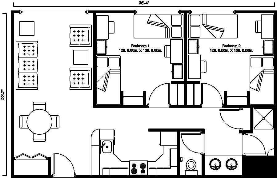 Here Floor Plan For Typical Apartment Click
