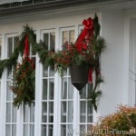 Here Glimpse The Front Doors And Other Christmas Decorations