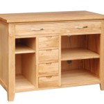 Hidden Desk Reception Solid Oak Wooden Home Office Furniture