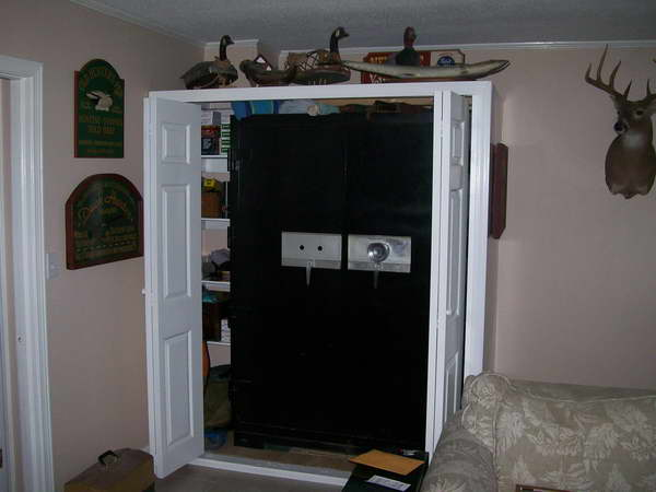 Hidden Gun Safes Furniture Wooden Doors