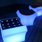 High Tech Glowing Chair Design One Total Pictures