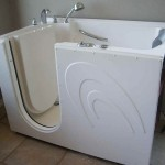 Highly Suitable For Small Bathroom White Inch Walk Bathtubs