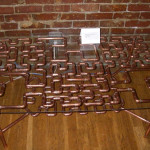Hilbert Curve Coffee Table