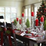 Holiday Evening Meal Space Table Decoration Ideas