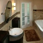 Home Bathroom Cool Inspiration For The Best Tiled Bathrooms Ideas