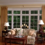 Home Decoration Bay Window Treatments Refreshing Your Interior