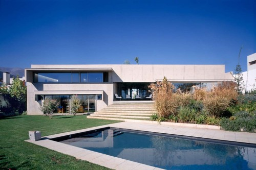 Home Designs Modern Concrete Homes Design Izquierdo Lehmann House