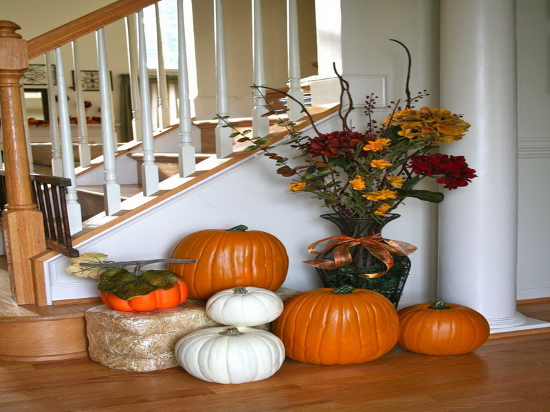 Home Fall Decorating Ideas Interior