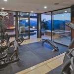 Home Gym Design Interior Exciting Exercises Using Own