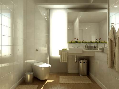 Home Interior Design Decor Bathroom Ideas Set