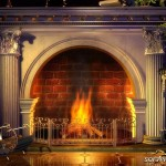 Home Interior Design Luxury Fireplace Ideas