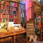 Home Library Design Decorating Ideas Picture