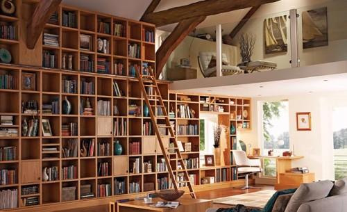 Home Library Furniture Model Pictures Designs And Ideas For