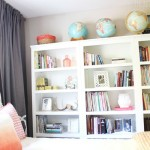 Home Library Three Target Threshold Bookcases Creative Space