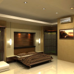 Home Lighting Interior Design For Classy Bedroom