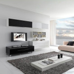 Home Modern Living Room Interior Design Ideas Giessegi Black