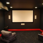 Home Movie Theaters Contemporary Media Room Metro