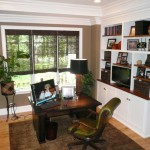 Home Office Built Desk Design Pictures Remodel Decor And Ideas
