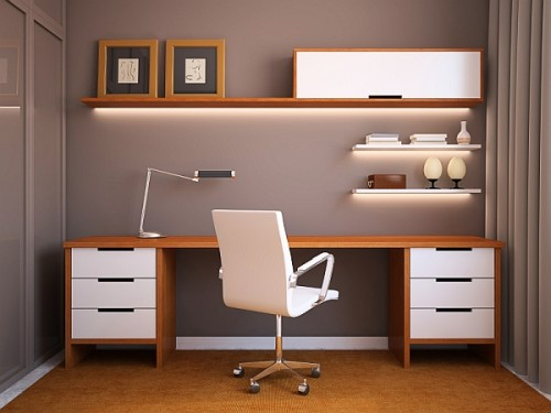 Home Office Decorating Ideas For Cozy Workplace