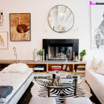 Home Style How Get The Look Zebra Hides Rug Office Living Room