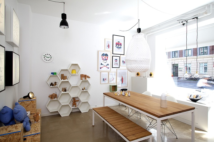 Honeycomb Shelving Unit Home Space
