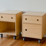 Hoop Pine Plywood Bedside Table Make Furniture