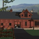 Horse Barn Living Quarters Space And Layout