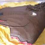 Horse Head Carved From Sheet Was The Movie