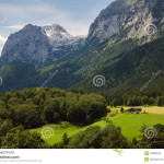 House Alps Stock Images Image