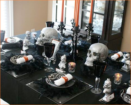 House Decorating Ideas And Inspirations For Halloween Contemporary