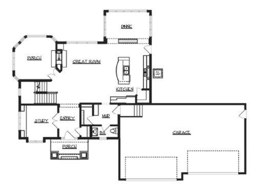 House Hayward Plan Green Builder Plans