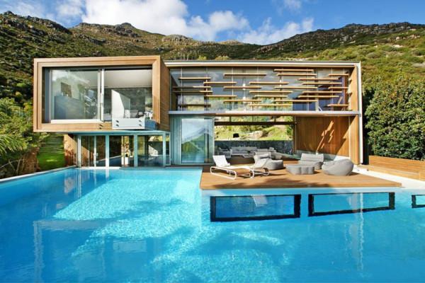 House Home South Africa The Pool Long And Linear Running