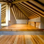 House Made Natural Wood Attic Design
