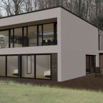 House Plans Bedroom Sloping Site Plan