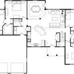 House Plans For Small Houses Gorgeous Open Floor Modern