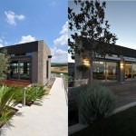 House Tours Exterior Modern Stone Design Stunning