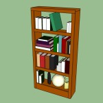 How Build Bookcase Wall Howtospecialist Step