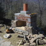 How Build Outdoor Fireplace Living Stone Masonry