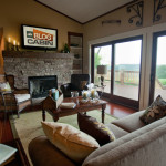 How Build Stacked Stone Fireplace Surround Diy Network