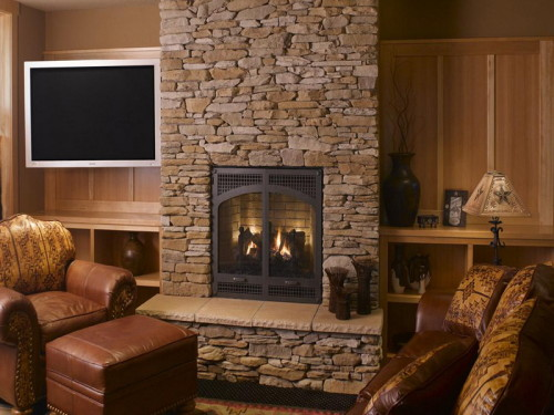 How Build Stone Fireplace Surround Keifner