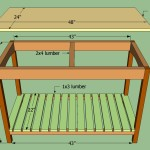 How Build Wooden Kitchen Island Howtospecialist
