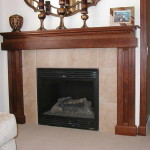 How Create Old Fireplace Mantels Mirror