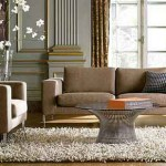 How Decorate Living Room Round Table Glass