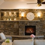 How Decorate Stone Fireplace