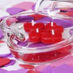 How Decorate Your Home Candles Valentine Day