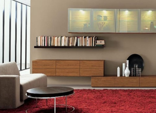 How Decorate Your Living Room Using Wall Units Ideal Home