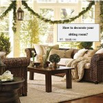 How Decorate Your Sitting Room Ppt Presentation