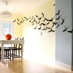 How Decorate Your Walls Bats For Halloween Shelterness
