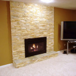 How Give Fireplace Stone Surround Diy Network